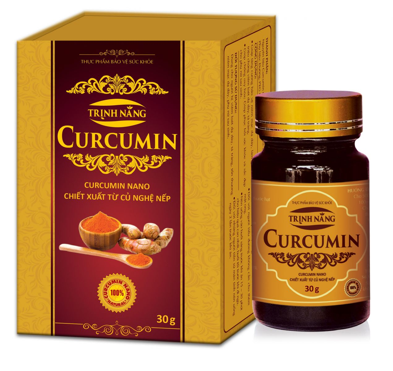 Trịnh Năng Curcumin
