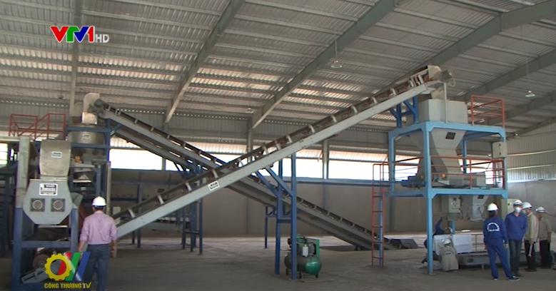Hệ thống dây chuyền thiết bị xử lý rác thải sinh hoạt thành phân bón hữu cơ