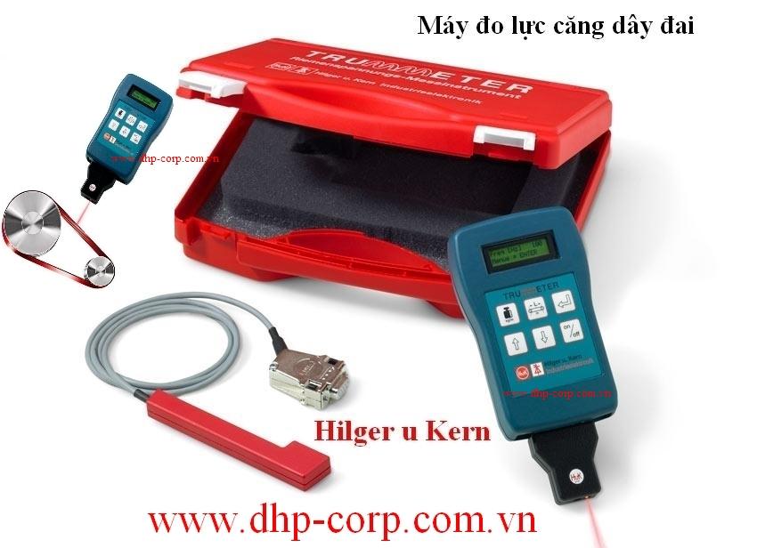 Thiết bị đo lực căng dây đai Trummeter Hilger u. Kern