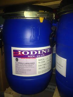 Hóa chất Iodine hạt 99.5%