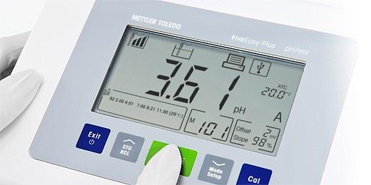 Máy đo pH/Nhiệt độ để bàn, F20 - Mettler Toledo